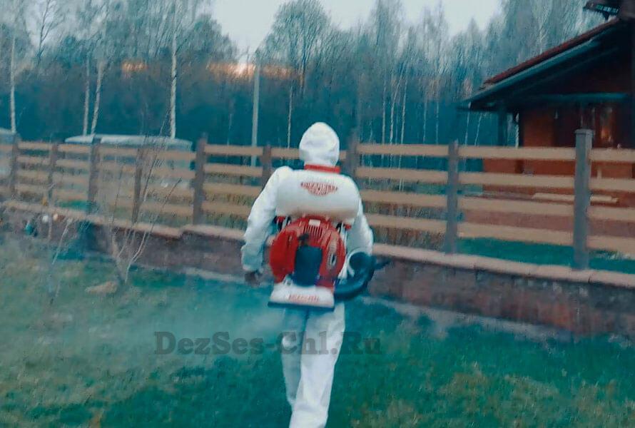 обработка от клещей в Челябинске